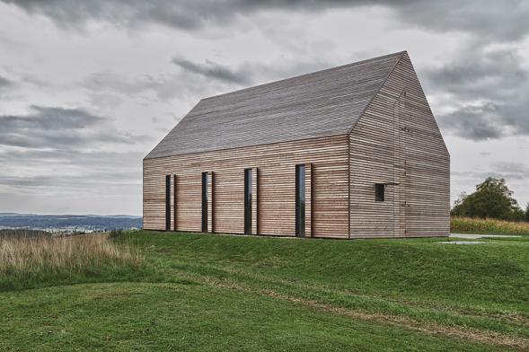 Letní dřevěný dům