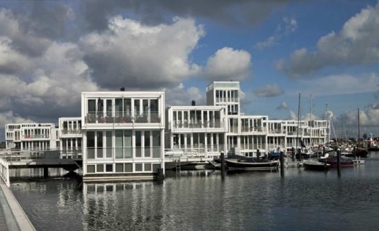 Bydlení na vodě IJburg
