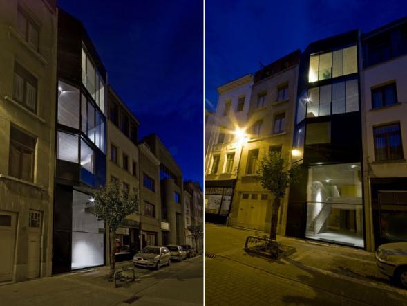Dům architektů v proluce