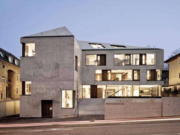Administrativní budova ve Stuttgartu