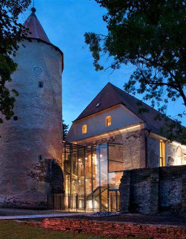 Rekonstrukce gotického hradu v Soběslavi