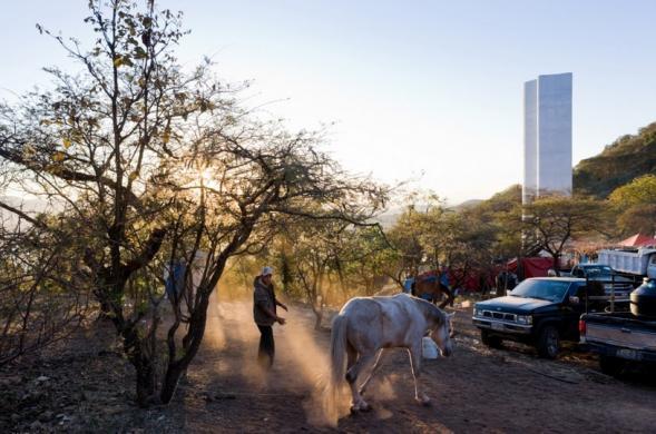 Poutní věž v Mexicu