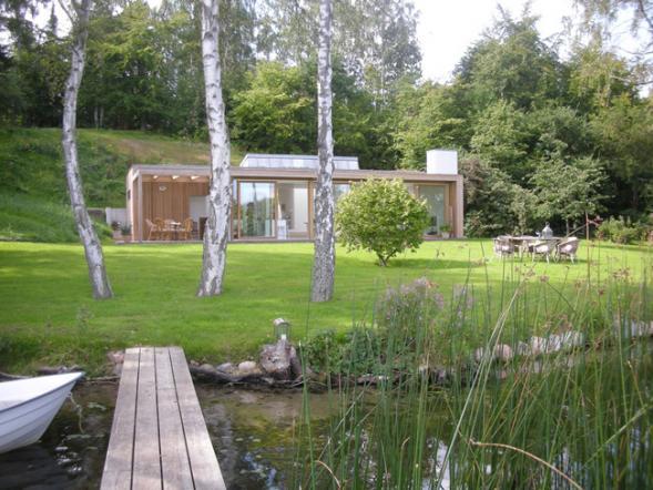 Dům u jezera Buresø
