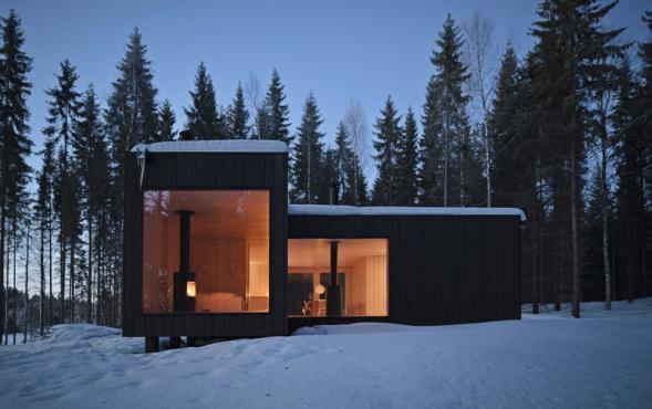 Dům v norských lesích