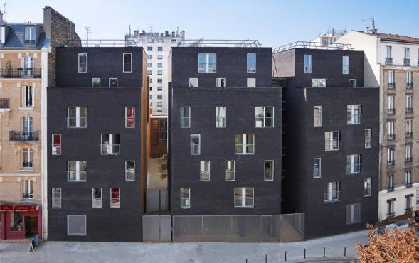 Studenské bydlení v Paříži