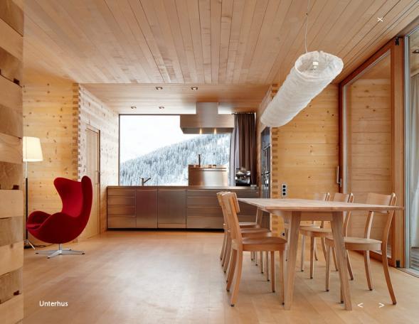 Prázdninové domy od Petra Zumthora