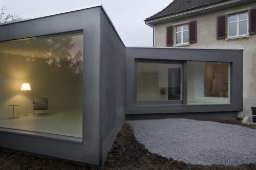 Přístavba k rodinnému domu v Muttenz