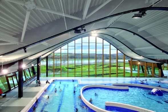 Plavecké bazény u Seiny
