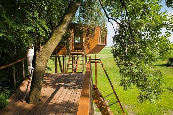 Dům ve stromě Bachstelze