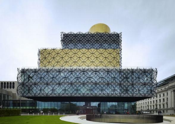 Knihovna v Birminghamu