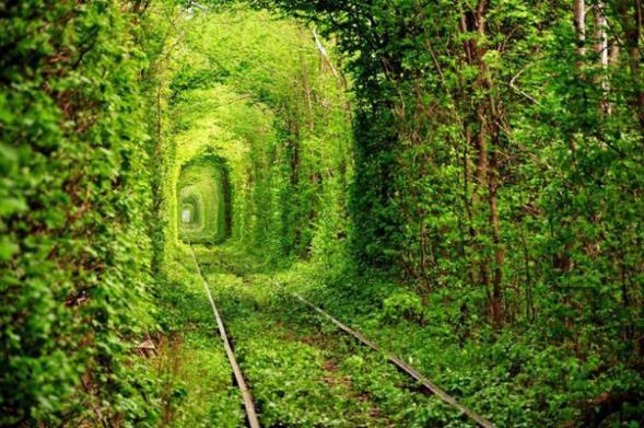 Tunel lásky na Ukrajině