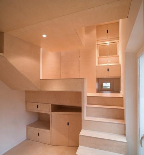 Chatou-miniaturní interiér