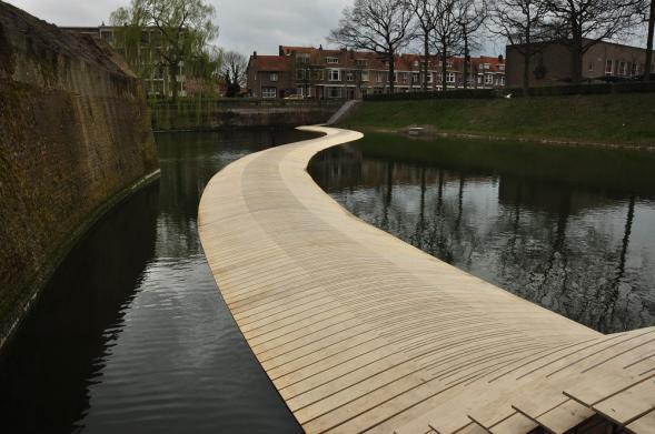 Pontonový most Ravelijnbrug