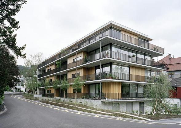 Bytový dům v Curychu