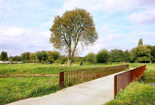 Park Groot Schijn v Antverpách
