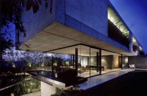 Betonový plující dům