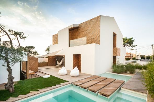 Domov pro rodinu v severním Portugalsku