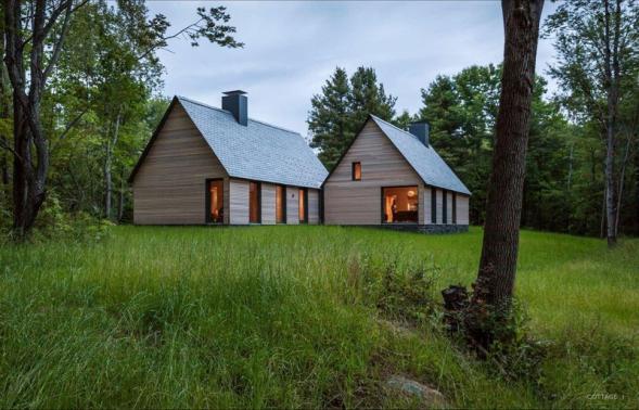 Klasické Vermontské chaty