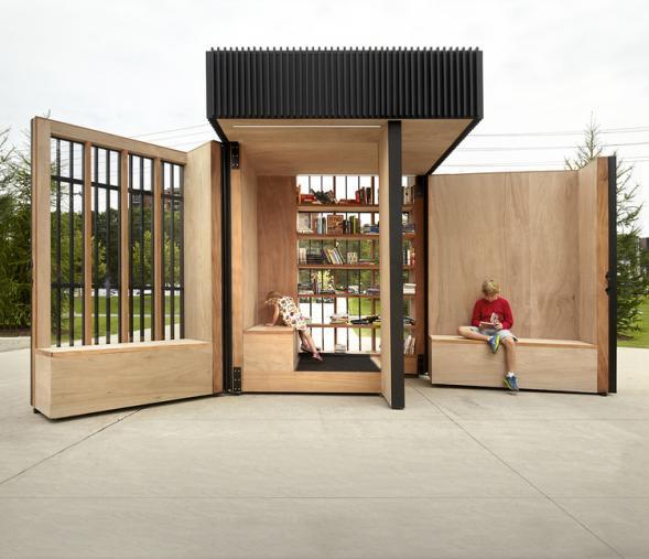 Story pod...knihovnu do každého parku