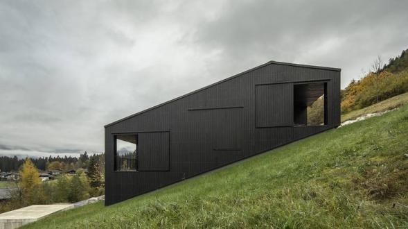 Dům ve svahu Lofer