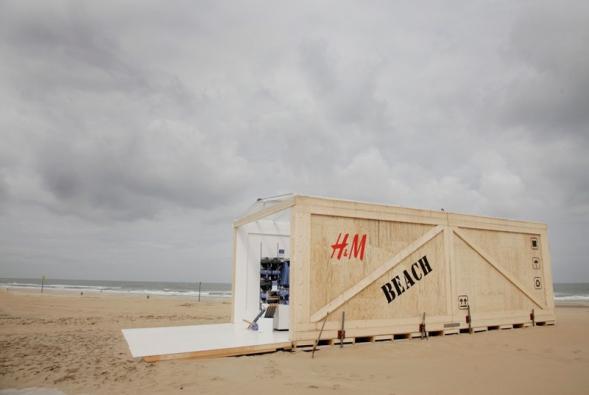 Plážový obchůdek - H&M Beach Store