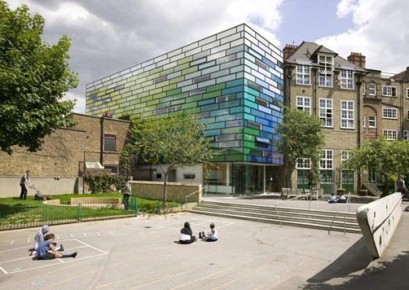 Barevná škola v Londýně