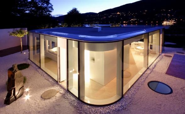 Dům u jezera Lugano
