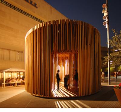 Dřevěný pavión