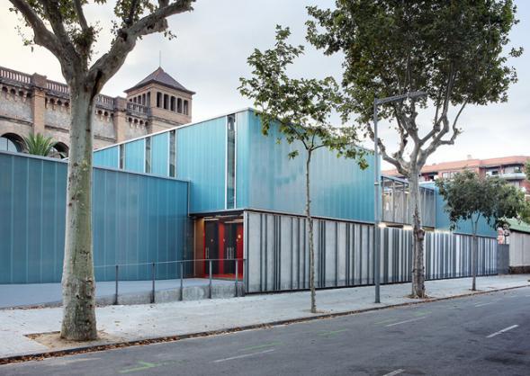 Přednáškové prostory Universidad Pompeu Fabra