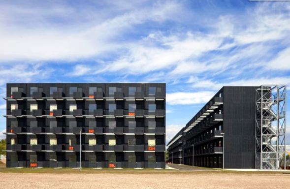 Modulární studenský dům Zuiderzeeweg