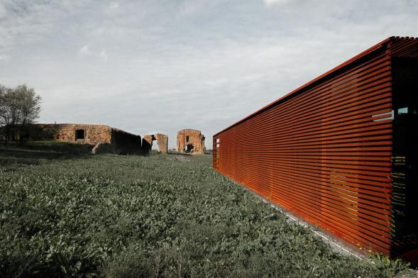 Villa Quintili úložiště archeologických vykopávek