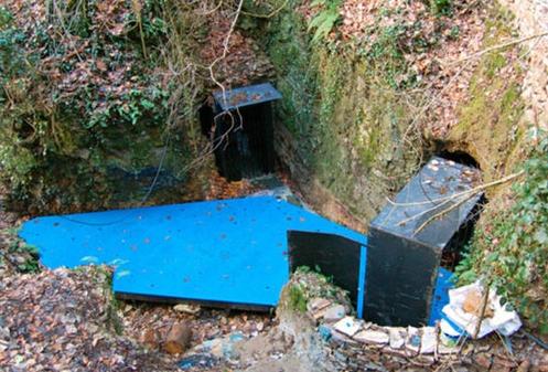 Důl Cornacchino- turistická stezka