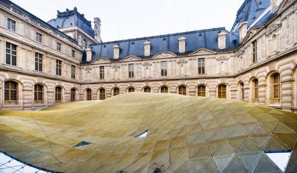 Dostavba islámského oddělení Louvre muzea