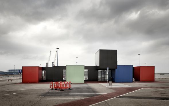 Terminál přístavu Gijón