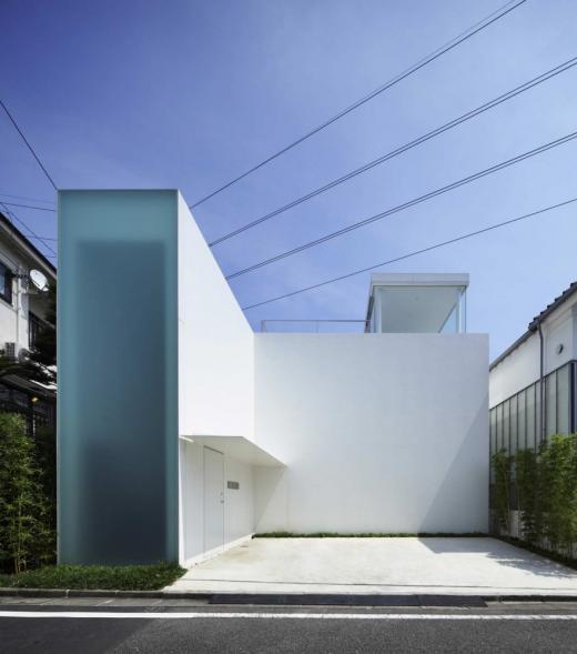 Cube court - dům s atriem