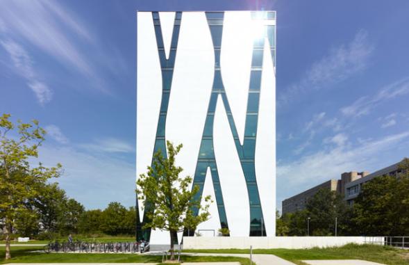 Knihovna fakulty medicíny v Düsseldorfu