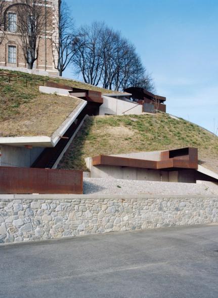 La Ronde- nový přístup ke kostelu Rivolli