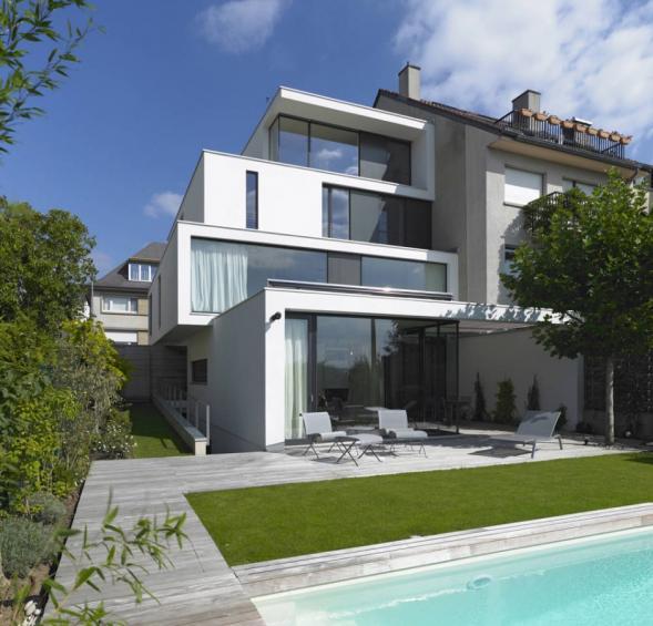 Nízkoenergetický dům v Lucembursku
