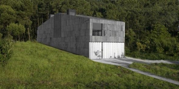 Dům s korkovou fasádou