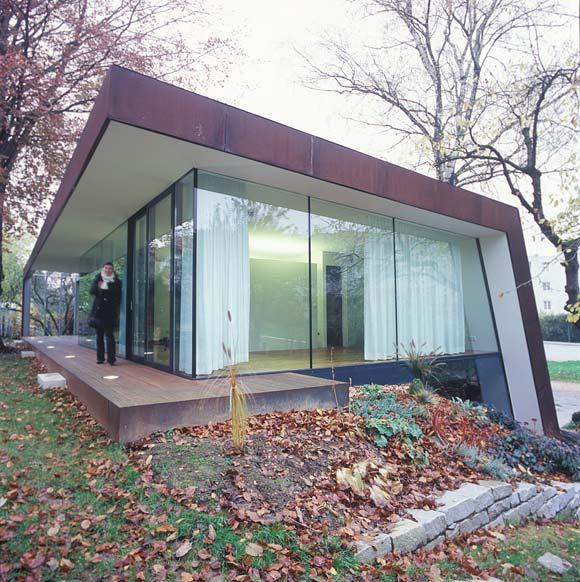 Přístavba k rodinnému domu v Linzi