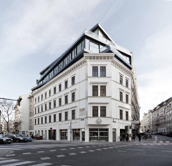 Rekonstrukce Margaretenstrase 9